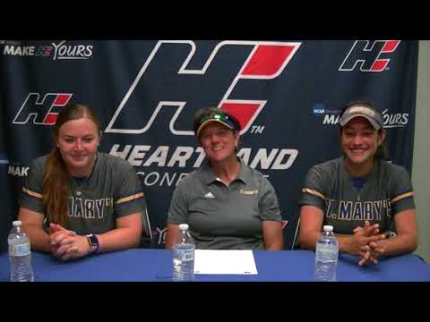 2018 Softball Championship Postgame Press Conference - St. Mary's - Game 7