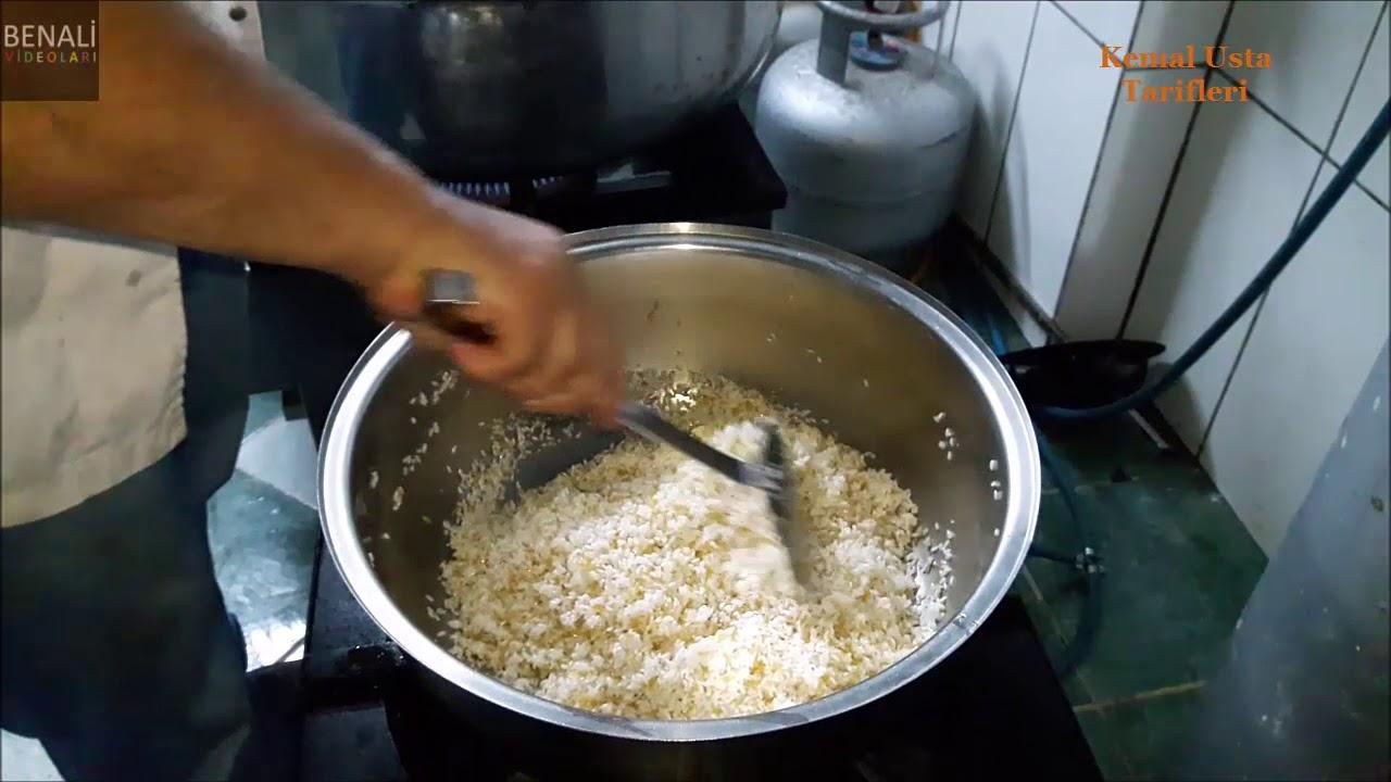 Gerçek Lokanta Usulü Pirinç Pilavı Nasıl Yapılır, Hazırlanır, Pişirilir