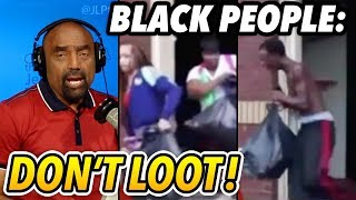 Hurricane Coming. Black People, Please Don't Loot.