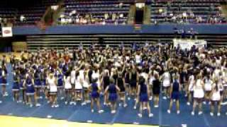 Jump and Wave at Cheer Camp