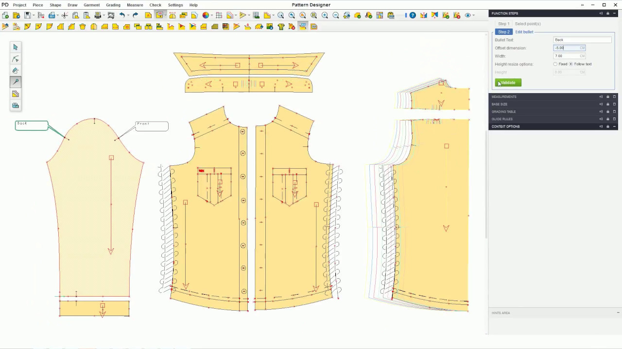 Pattern Sketch And Info Gemini Pattern Designer X19 Youtube