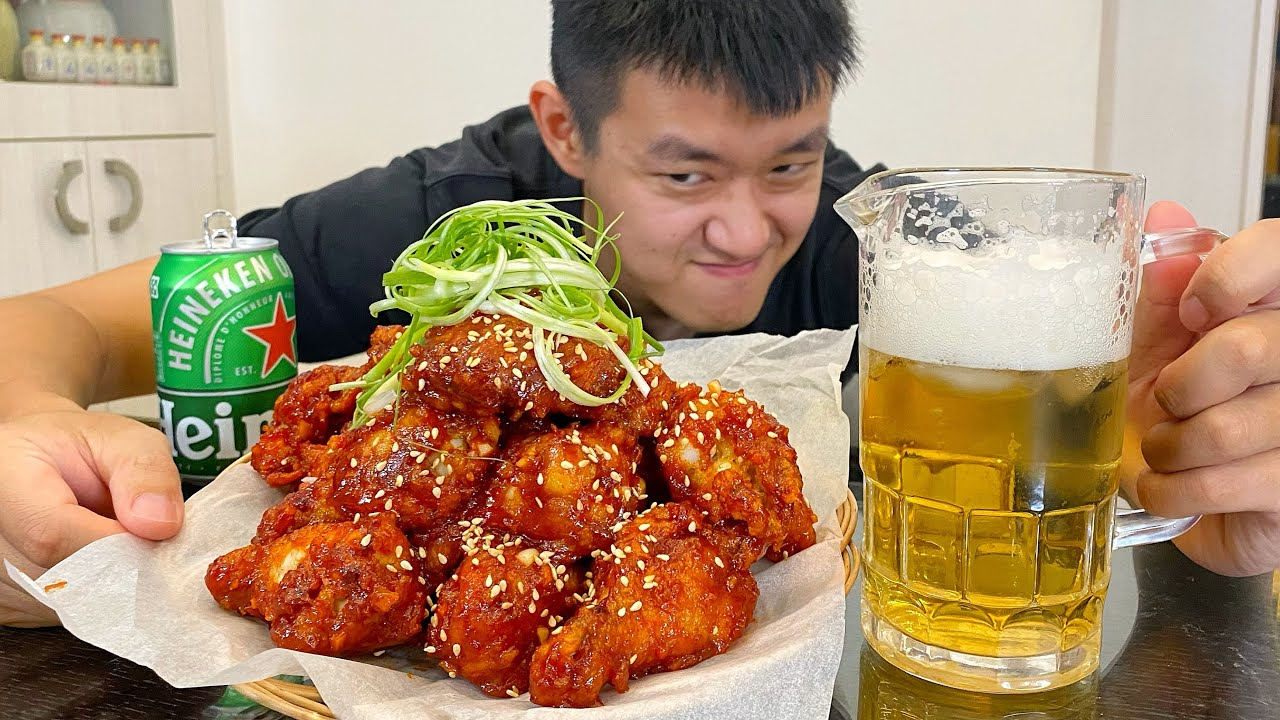 如何製作超好吃的韓式炸雞!How to make super delicious Korean fried chicken!