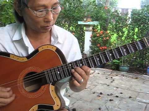 Tự học đàn ghi ta cổ nhac Đoản khúc lam giang dây đào