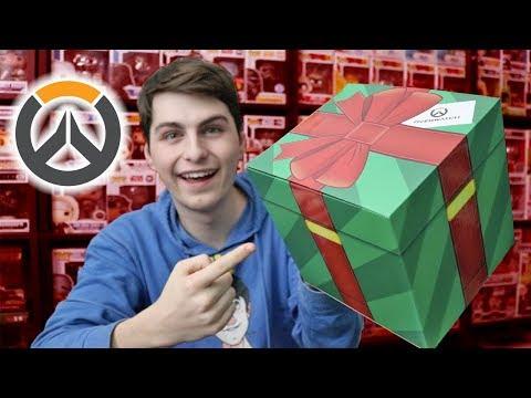 Overwatch Christmas Loot Box Full Of Funko!