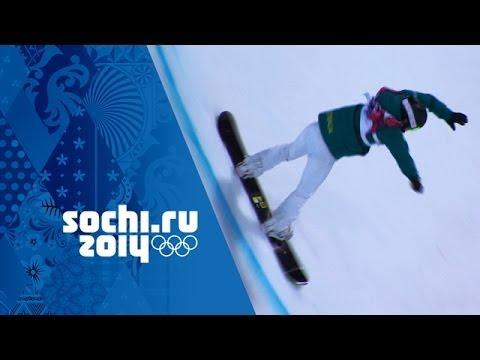 Snowboard Halfpipe - Ladies' Semi-Final   Sochi 2014 Winter Olympics