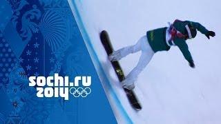 Snowboard Halfpipe - Ladies' Semi-Final | Sochi 2014 Winter Olympics