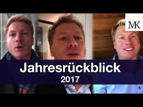 Jahresrückblick 2017 - Realtalk über Fitness, Gesundheit, Job und was 2018 kommt!⎜Markus Mingers