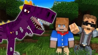 Minecraft Dinosaurs #18 - CARNIVORES ARE FRIENDS! (Jurassic World Minecraft Roleplay)