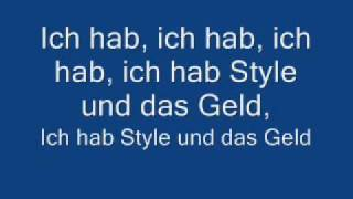 Kay One - Style &  Das Geld (Feat. Sonny Black)+lyrics