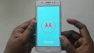 Motorola Moto E4 Plus Hard Reset soft reset