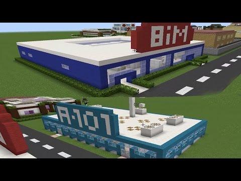 Bim Vs A101 - Minecraft Modern Evler