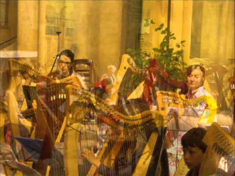 Concert Harpes et Orgues à l'Eglise St Hilaire. Direction : Valérie Patte