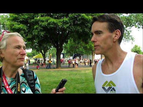 Interview with Joe McNamara, absolute winner of 10 km road race, National Senior Games 2015