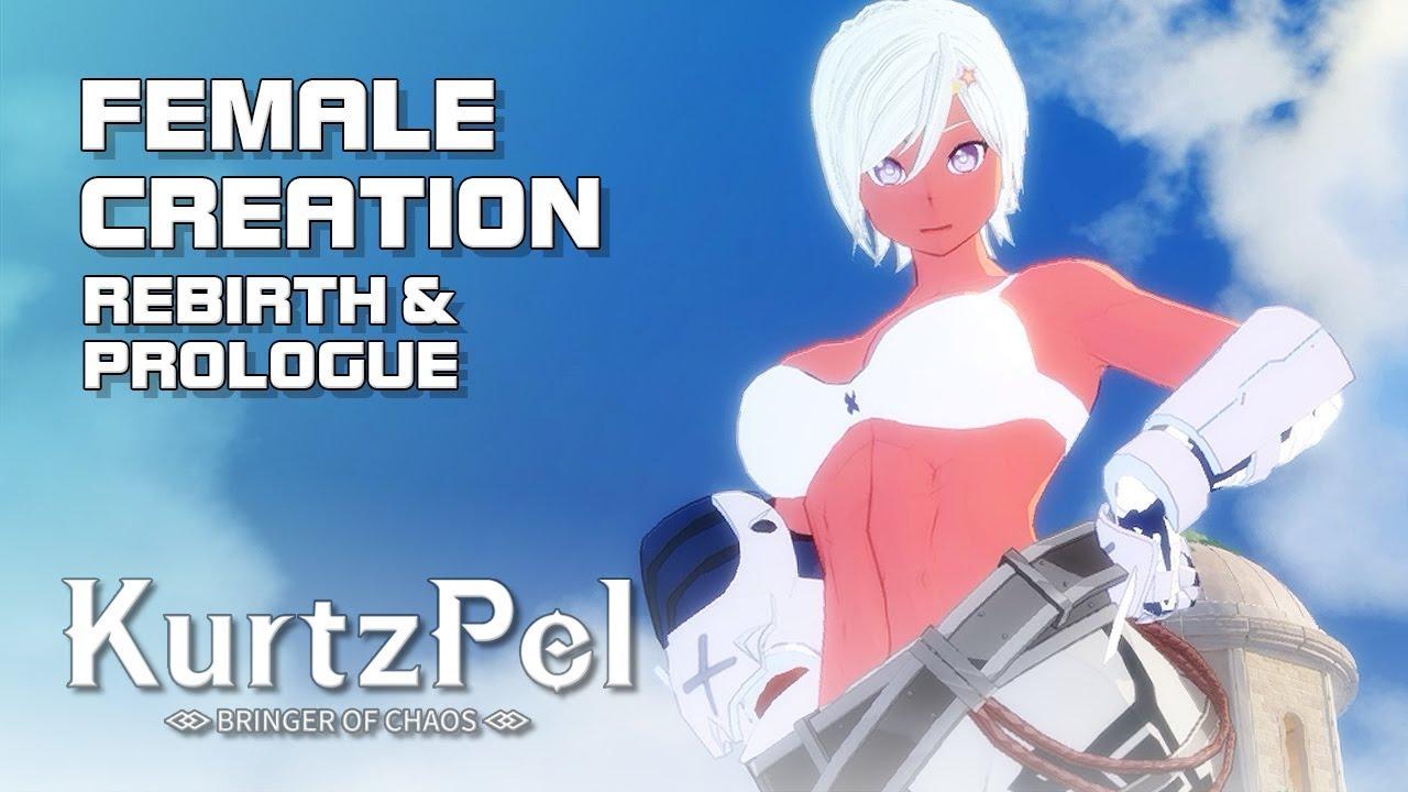 KurtzPel (커츠펠) - Female Creation - Rebirth & Prologue - EU Alpha - PC - F2P  - EN