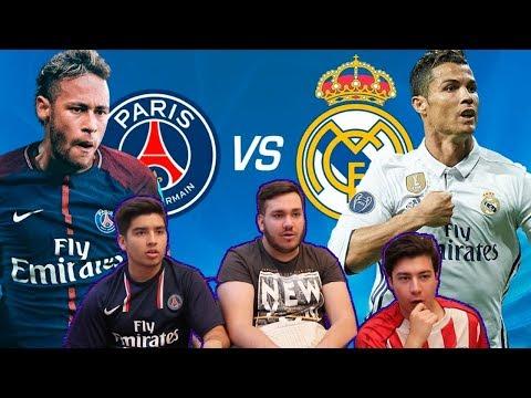 REAL MADRID 3 - PSG 1 | Octavos de Final - IDA | UEFA Champions league Vídeo reacción