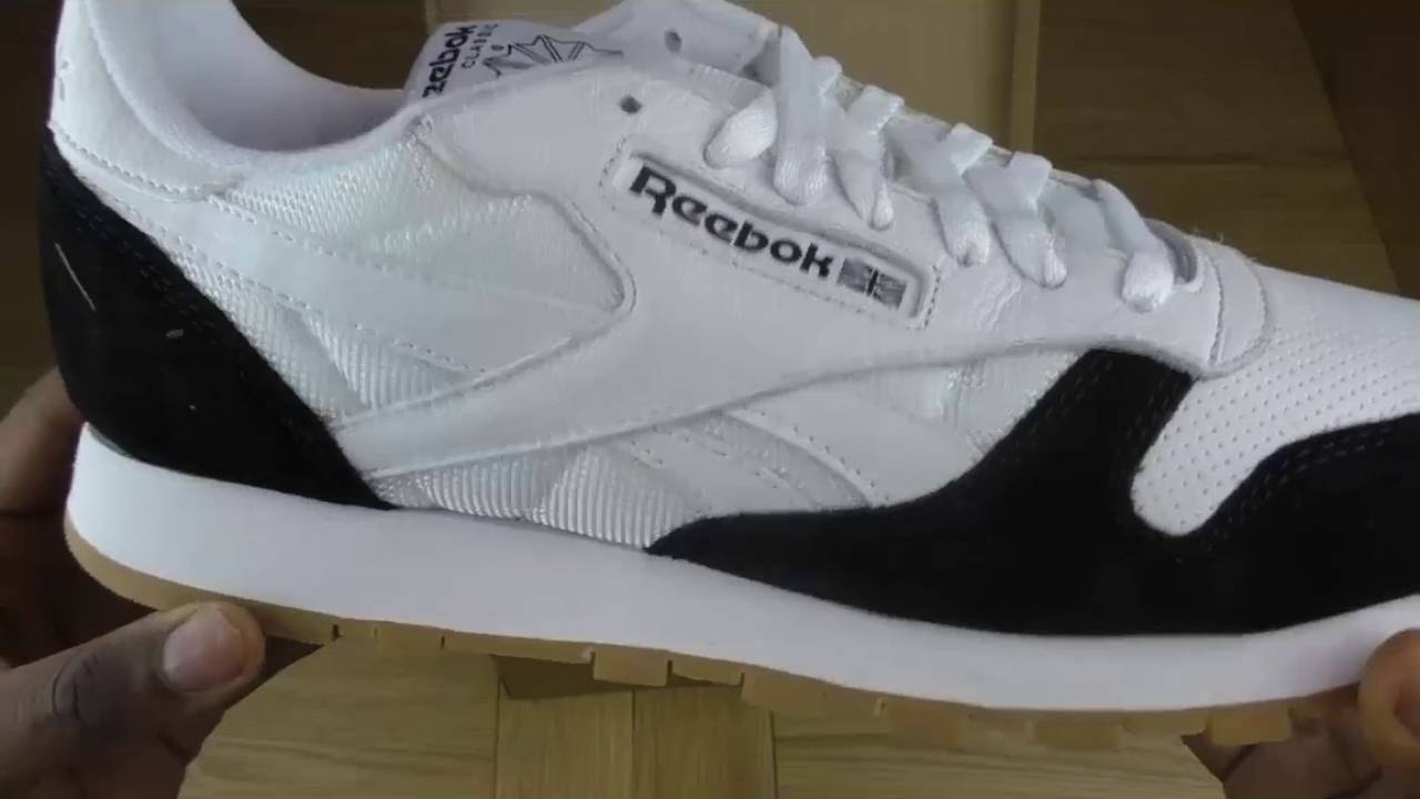 Quick Unboxing Kendrick Lamar x Reebok Split black white - YouTube 06adb5d0a