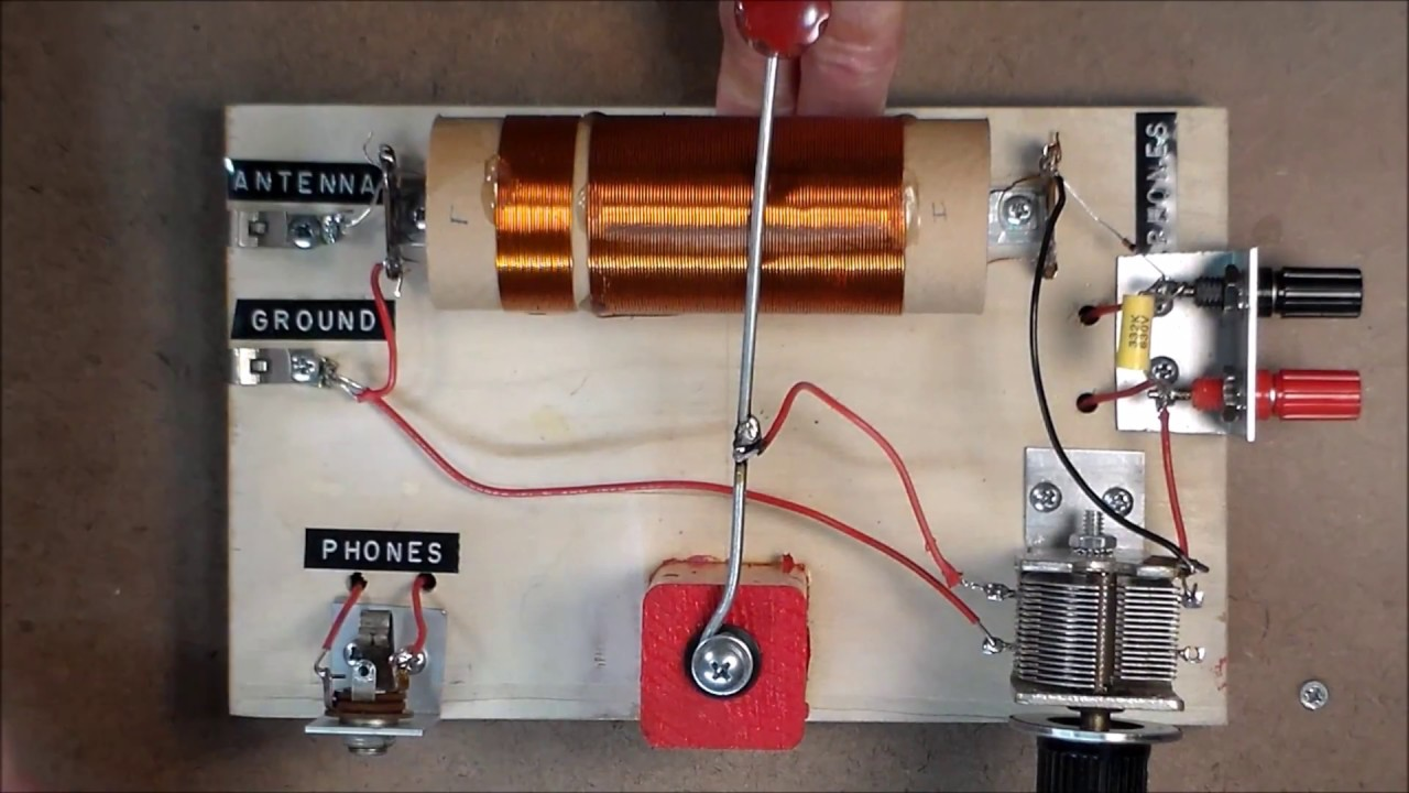 Boy Scout Crystal Radio Upgrade