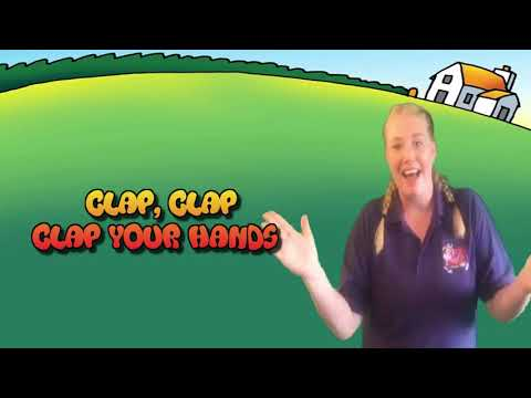 Clap Stomp Jump & Run - Moo Music Childrens Song