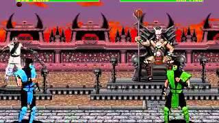 Mortal Kombat 2 - Sub  Zero (Sega Genesis) (By Sting)