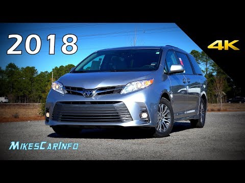 2018 Toyota Sienna XLE - Ultimate In-Depth Look in 4K