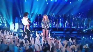 Beyoncé Jay - Z and blue ivy moment 2014 vma.mp4