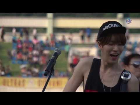 2013 6 15 ICON  노민우 NOMINWOO - ROCK STAR 안성 K리그 자선경기 하프타임공연 ybcnews net 촬영본