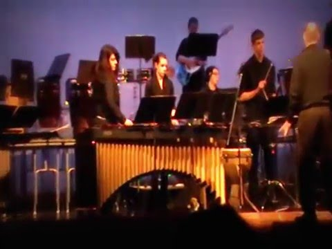 Kettle Moraine Lutheran High School Percussion Ensemble Plays Say Something
