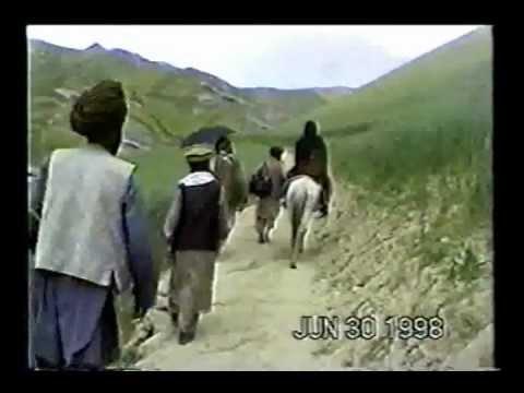 Distributing Aid - Afghanistan, 1998