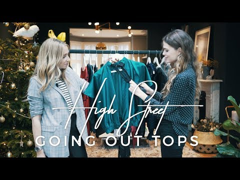 High Street Going Out Tops Fashion Haul