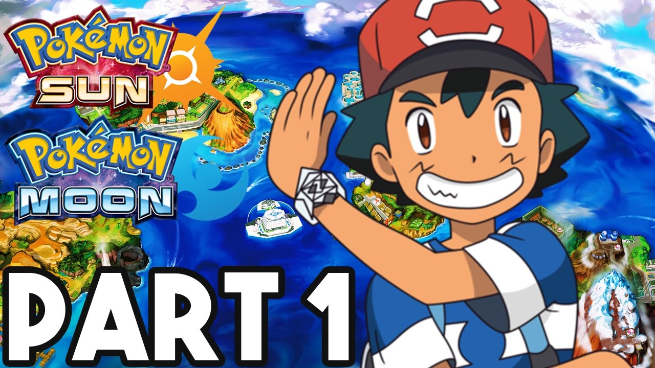 Pokemon Sun and Moon Gameplay Walkthrough Part 1   FULL GAME 2      Pokemon Sun and Moon Gameplay Walkthrough Part 1   FULL GAME 2  HOURS     3DS Pokemon Sun Gameplay    YouTube