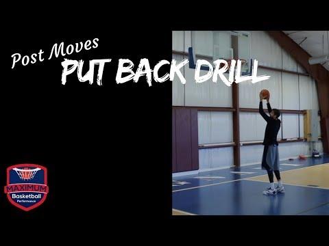 Post Moves - Put Back Drill   Maximum Basketball Performance
