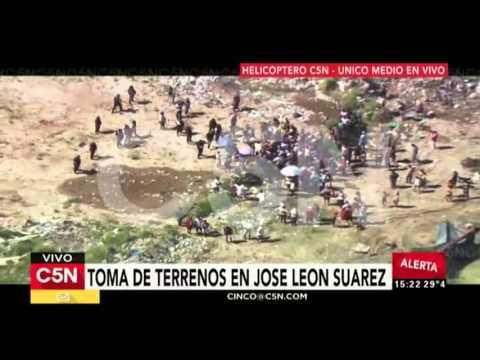 C5N – Toma de terrenos en José León Suárez