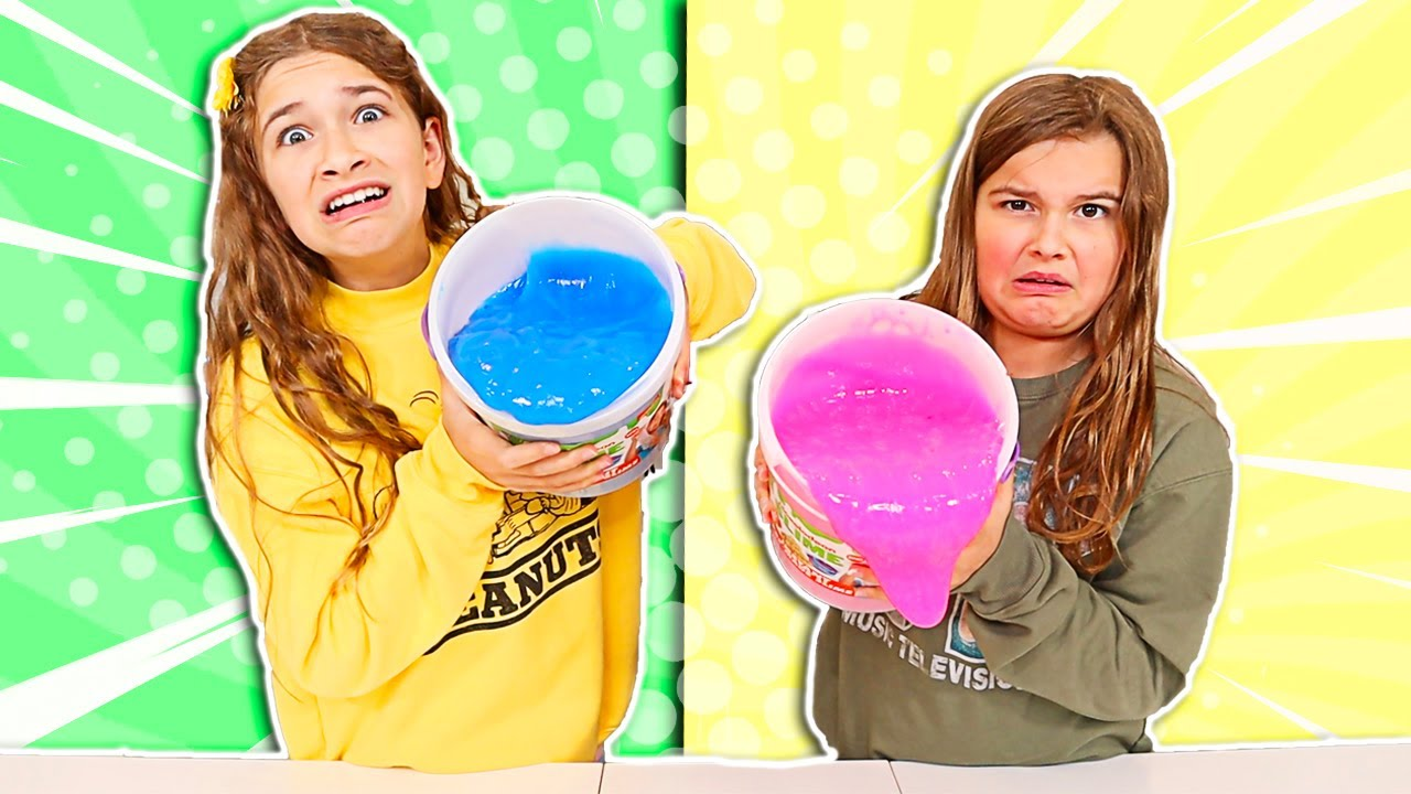 Download FIX THIS 20 POUND BUCKET OF STORE BOUGHT SLIME CHALLENGE!! | JKrew