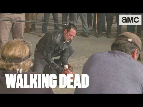 SPOILERS 'Negan Vs Simon' Behind the s Ep. 815  The Walking Dead