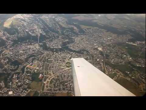 Scenic Luxembourg Departure On Hahn Air Premier I Business Jet (June 24th, 2011)