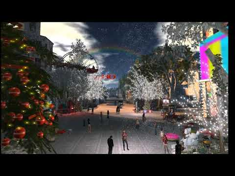 Happy Christmas from London City in Second Life