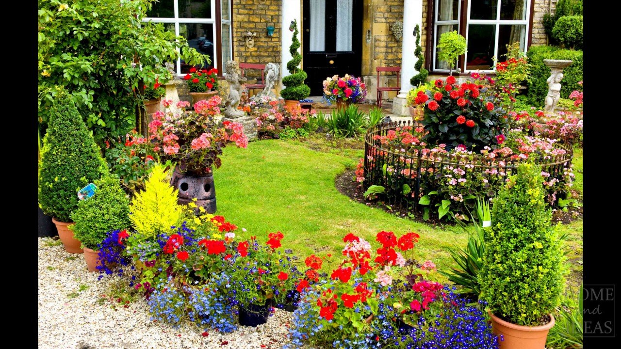 10+ English country garden design ideas p2 - YouTube