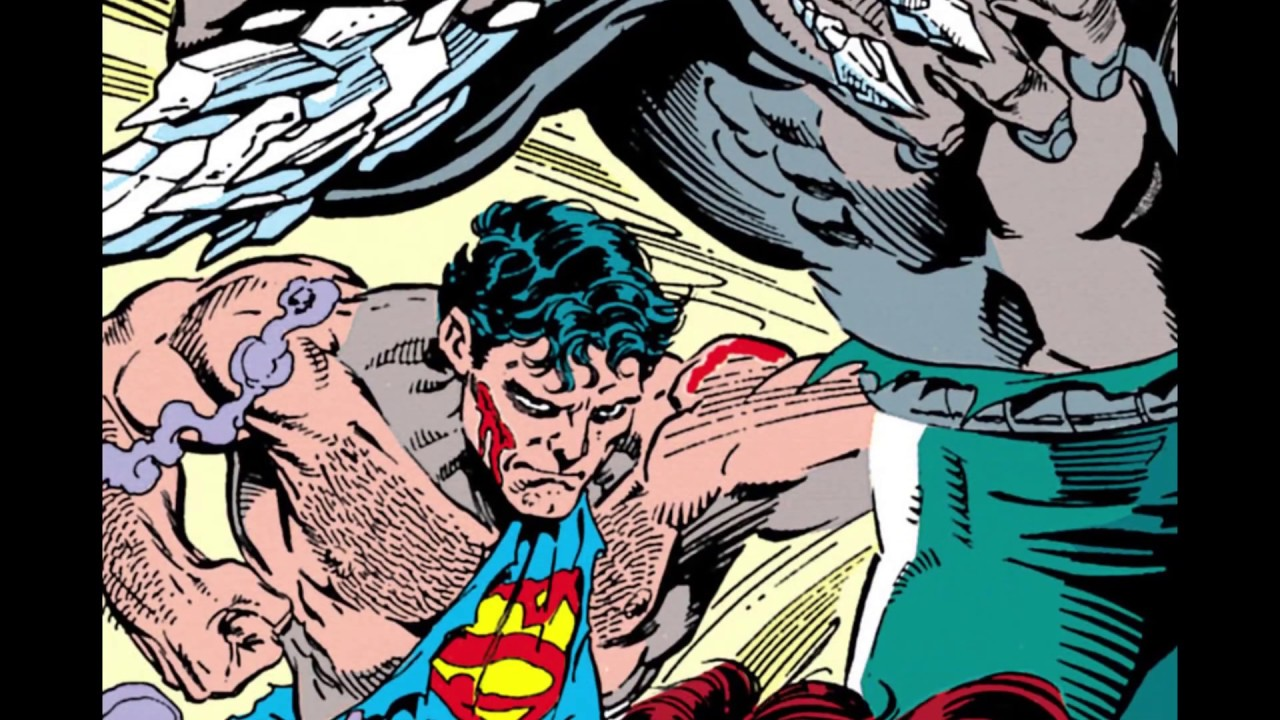 Superman Vs Doomsday Motion Comic Youtube