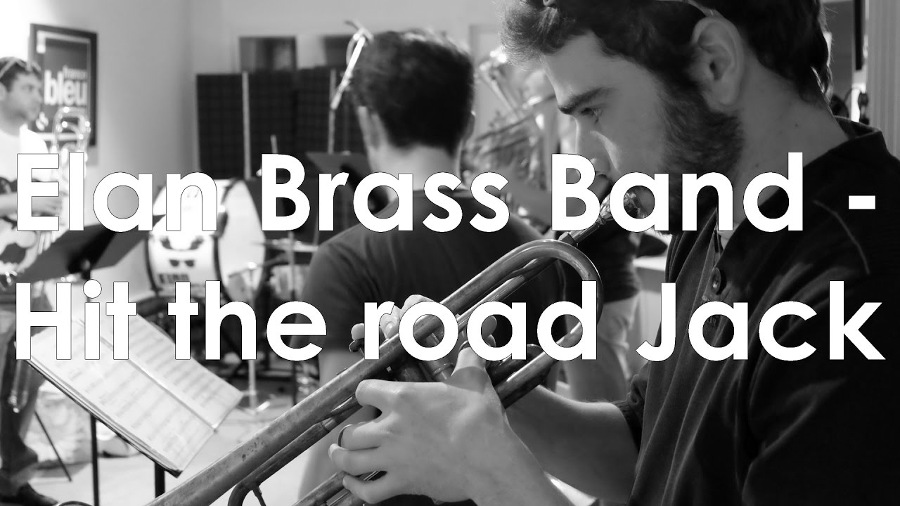Elan Brass Band - Radio live session: HIT THE ROAD JACK // Ray Charles Cover