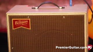 Review Demo - Benson Amps Monarch