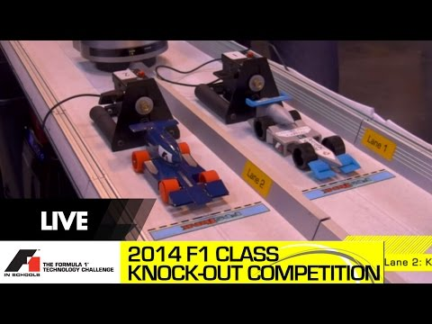 F1 in Schools UK National Final 2014 F1 Class Racing and Knockout Competition