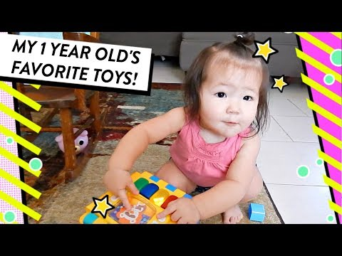 My Toddler's Favorite Toys | Best Toys for 1 Year Old | HelloHannahCho