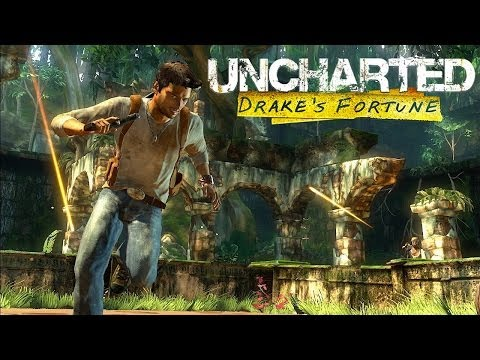 Uncharted: Drake's Fortune (Game Movie-Full Length) {1080p}