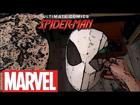 How to make a new Spider Man mask/Amazing Cardboard DIY (part 1)