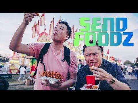 Frog Leg Food Festival: Send Foodz w/ Timothy DeLaGhetto & David So