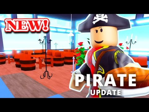 PIRATE UPDATE & New Limiteds... | Roblox MY RESTAURANT!