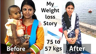 My Weight loss Story   No diet, No Exercise   How i lost my 18 Kgs   75 to 57 Kgs   part - 1