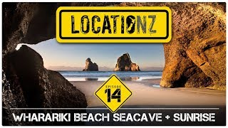 Photographing The Wharariki Sea Cave | Episode 14 | Manual HDR