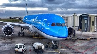 KLM Dreamliner in Business Class - Finally! #KLM