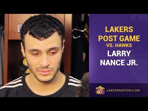 Larry Nance, Jr. Talks Dunk On Al Horford, Progress With Knee